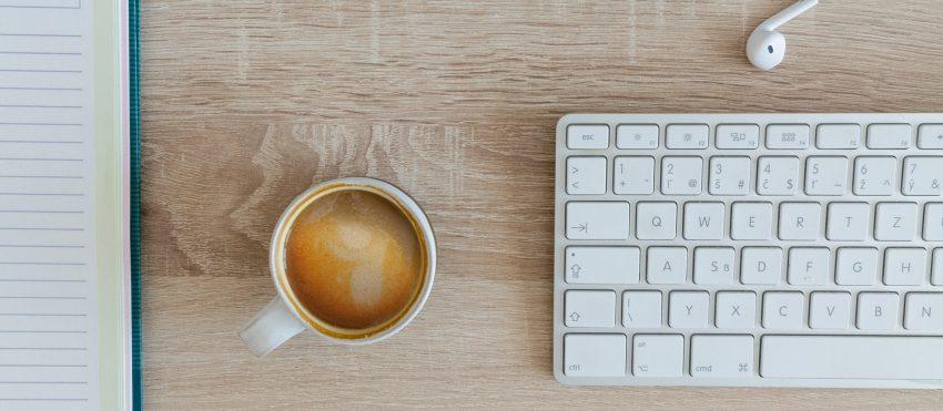 44 Wood Desk Keyboard