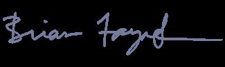brian fayak signature