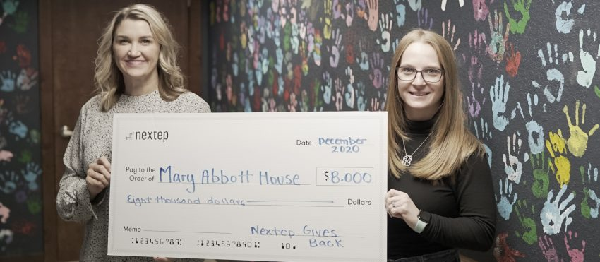 Nextep Donates to Mary Abbott House