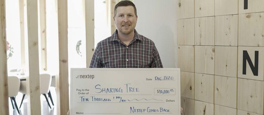 Nextep Donates to Sharing Tree